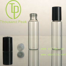 TP-3-24-3 15ml Roll On Bottles with black plastic cap