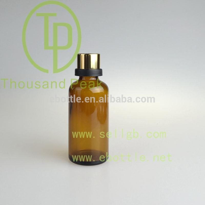 5ml 15ml 30ml 50ml 100ml dropper plastic aluminium cap essential oil glass bottle