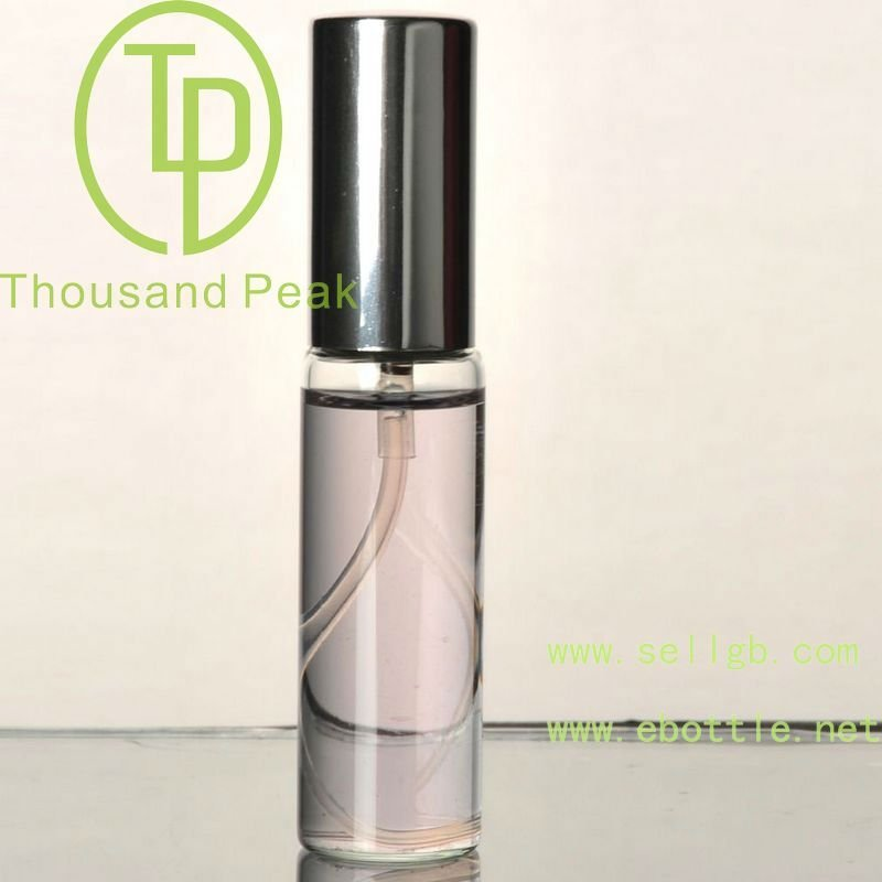 TP-3-14 15/20ml Perfume glass bottle with plastic sprayer