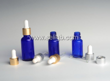 5ml 10ml 15ml 20ml 30ml 50ml 100ml Blue Glass Dropper bottle, cosmetic glass bottle with plastic dropper, essential oil bottle