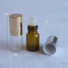 10ml roll on blue glass bottle