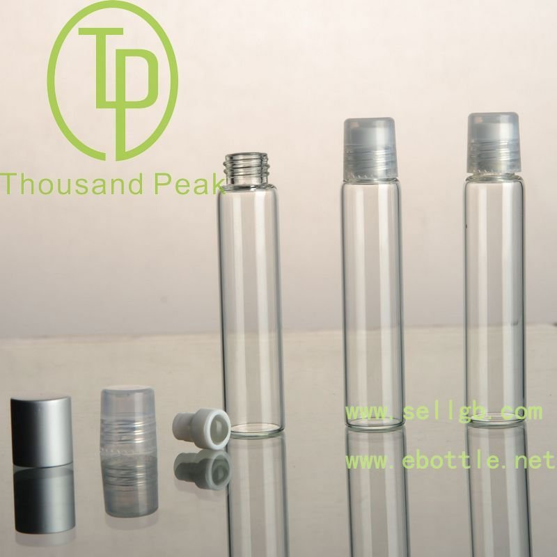 TP-3-23-h 10ml clear Roll On Bottles