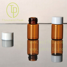 TP-1-04 2.5ml amber glass vials with cap