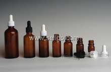 5ml 10ml 15ml 20ml 30ml 50ml 100ml Amber Dropper bottle, cosmetic bottle with plastic dropper, essential oil bottle