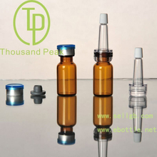TP-2-01 2ml brown Bayonet bottle with butyl rubber stopper open aluminum alloy group and cover and a trumpet head
