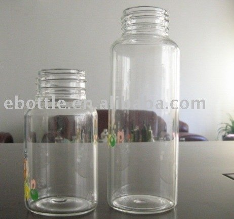 120ml 200ml glass baby bottles